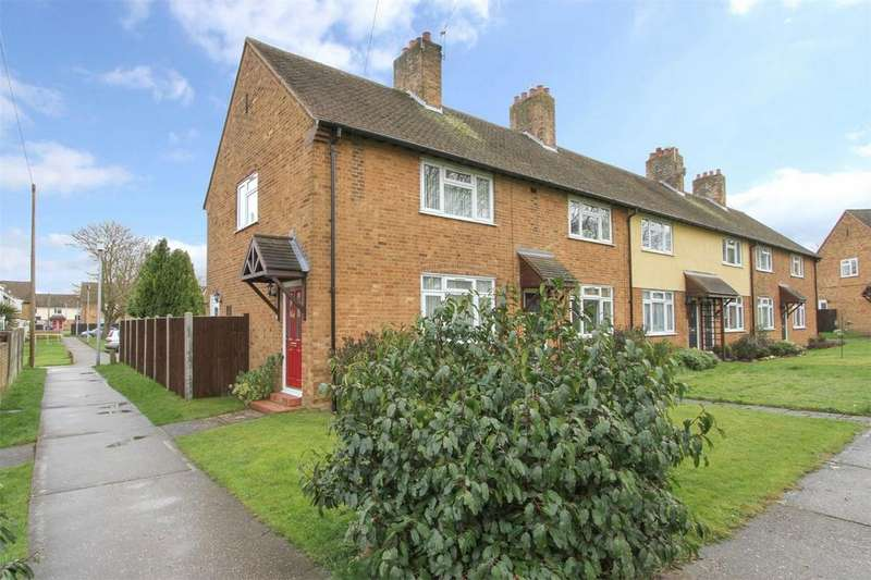 2 Bedrooms End Of Terrace House for sale in Hoveton Place, Badersfield, Norwich, Norfolk