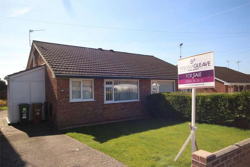 2 Bedrooms Semi Detached Bungalow for sale in Park Avenue, Bryn y Baal, Flintshire