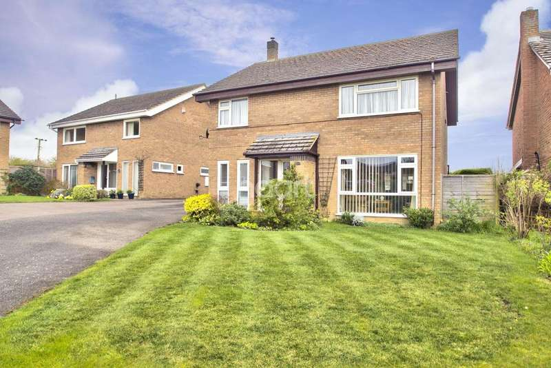 4 Bedrooms Detached House for sale in Hillside Close, Ellington, Huntingdon