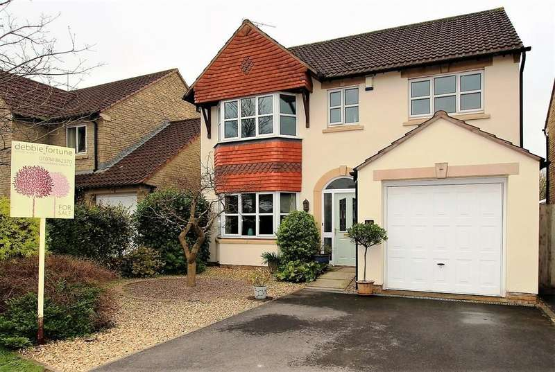 4 Bedrooms Detached House for sale in Blackdown Mead, Cheddar