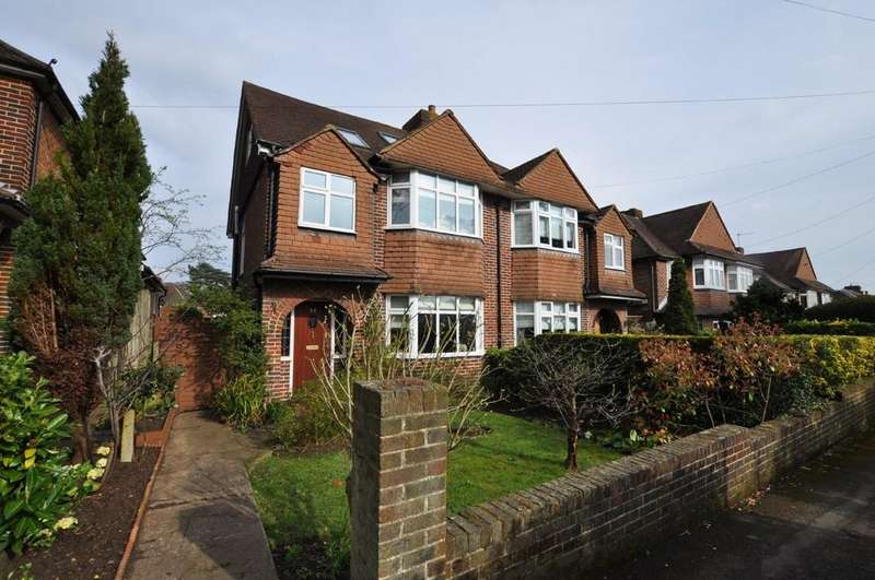 5 Bedrooms Semi Detached House for sale in Manor Road, Guildford