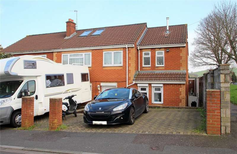 4 Bedrooms Semi Detached House for sale in Boulters Road, Hartcliffe, Bristol, BS13