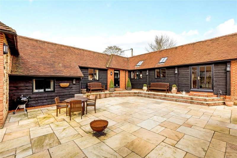 3 Bedrooms Detached House for sale in Suffield Lane, Puttenham, Guildford, Surrey, GU3
