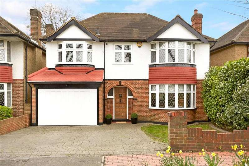 4 Bedrooms Detached House for sale in Ember Gardens, Thames Ditton, Surrey, KT7