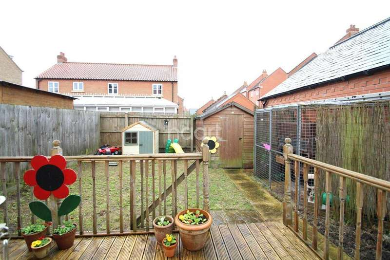 2 Bedrooms End Of Terrace House for sale in Carpenters Close, Wragby