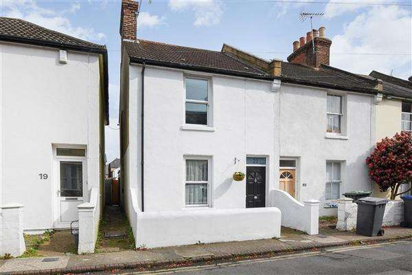 2 Bedrooms End Of Terrace House for sale in Tudor Road, Canterbury