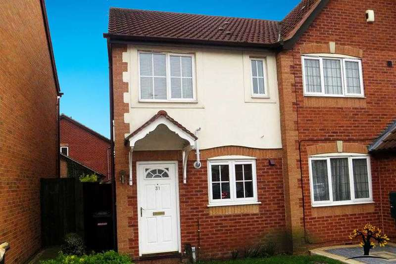 2 Bedrooms Semi Detached House for sale in Barling Road, Leicester