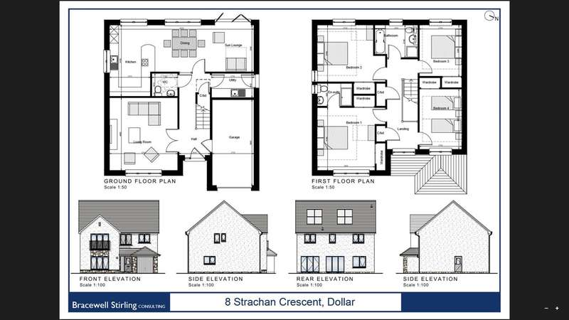 4 Bedrooms Detached House for sale in Strachan Crescent, Dollar