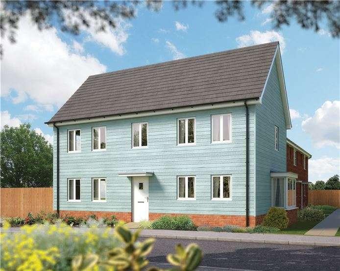4 Bedrooms End Of Terrace House for sale in The Huntington, Plot 38 Morris Gardens, Fordham Road, Soham