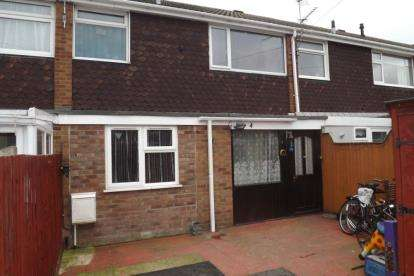 3 Bedrooms Terraced House for sale in Sandwich Road, St. Neots, Cambridgeshire