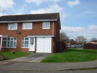 3 Bedrooms Semi Detached House for sale in Swift Close, Newport Pagnell, Milton Keynes, Bucks
