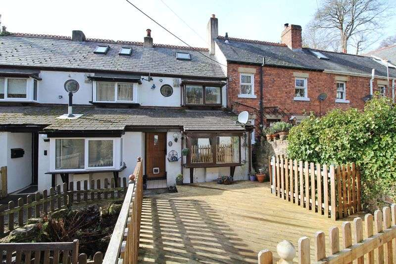 2 Bedrooms Terraced House for sale in Jeffreys Terrace, Pontcysyllte