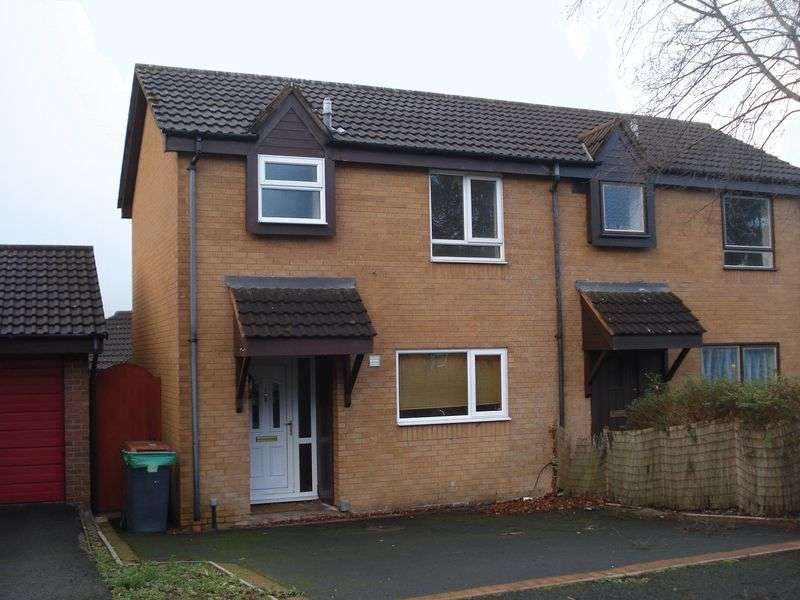 2 Bedrooms Semi Detached House for sale in Dinchope Drive, Hollinswood, Telford