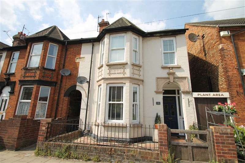 4 Bedrooms End Of Terrace House for sale in Castle Road, Bedford