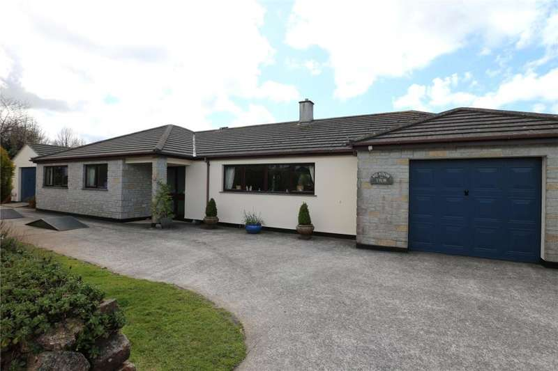 3 Bedrooms Detached Bungalow for sale in Parc An Gorsaf, Camborne, Cornwall