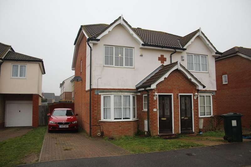 2 Bedrooms Semi Detached House for sale in Manor House Drive, Ashford TN23