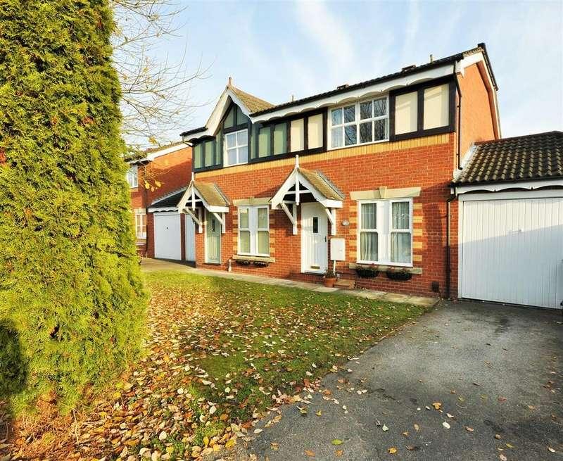 3 Bedrooms Semi Detached House for sale in Millfield Gardens, Nether Poppleton, York