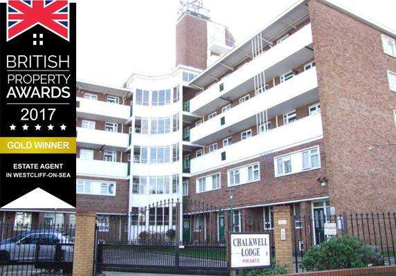 2 Bedrooms Apartment Flat for sale in Chalkwell Lodge, Westcliff On Sea SS0