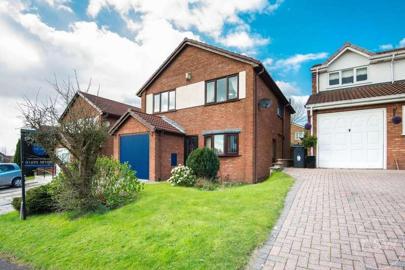 4 Bedrooms Detached House for sale in Kestrel Park, Skelmersdale