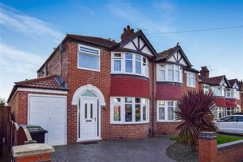 3 Bedrooms Semi Detached House for sale in Rossett Avenue, Timperley, Cheshire, WA15