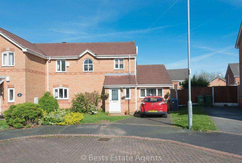 3 Bedrooms Semi Detached House for sale in Manorfell, Palacefields, Runcorn