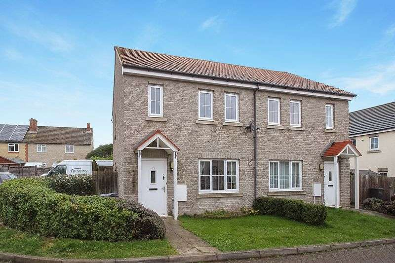 2 Bedrooms Semi Detached House for sale in Neville Close, Charlton Adam, Somerton