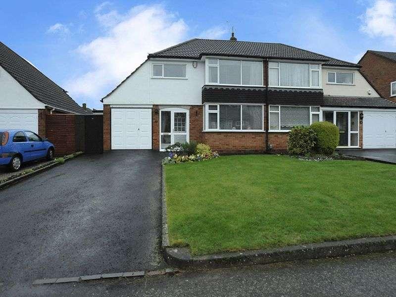 3 Bedrooms Semi Detached House for sale in Sandhurst Avenue, Pedmore, Stourbridge