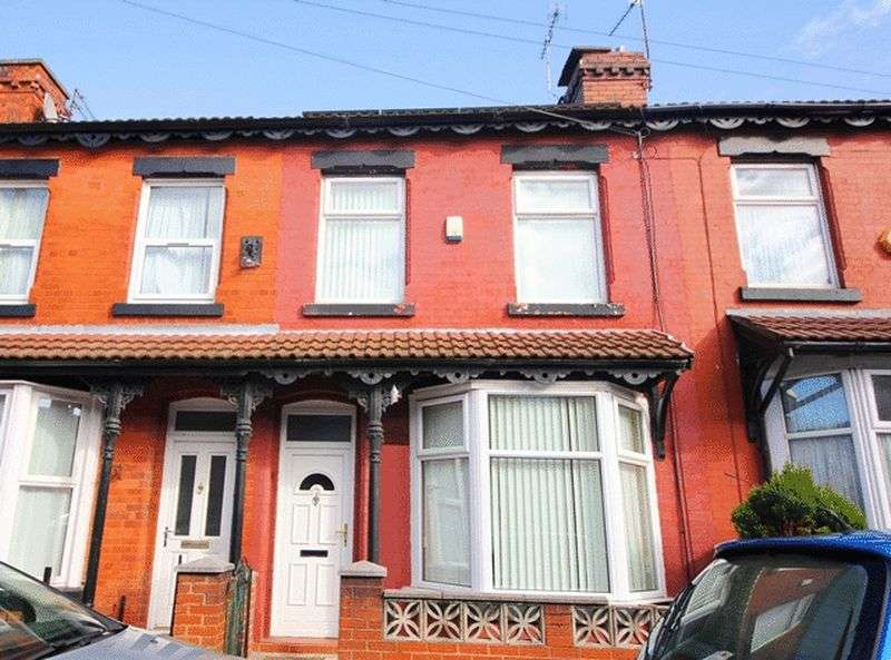 3 Bedrooms Terraced House for sale in Leinster Road, Old Swan, Liverpool, L13