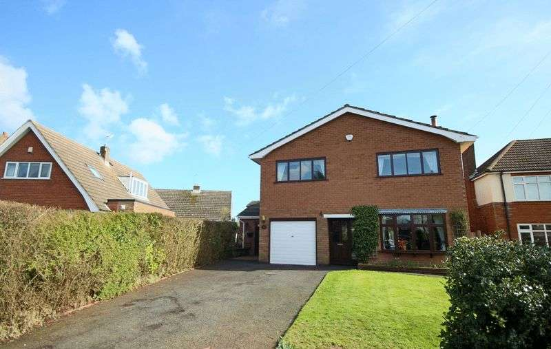 4 Bedrooms Detached House for sale in Overhill Road, Stafford