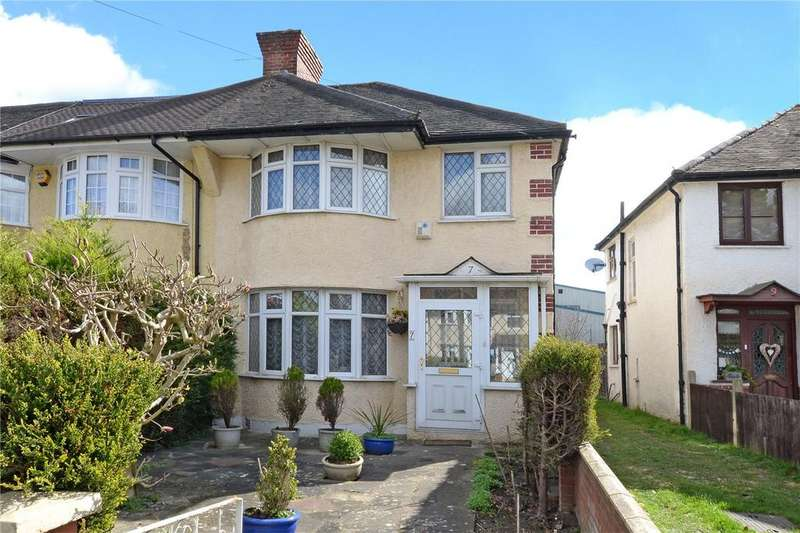 3 Bedrooms End Of Terrace House for sale in Windsor Avenue, Cheam, Sutton, SM3