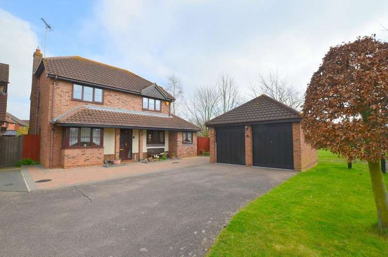 4 Bedrooms Detached House for sale in Cardew Drift, Kesgrave