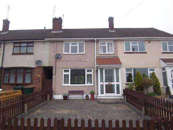 3 Bedrooms Terraced House for sale in Winslow Close, Coventry