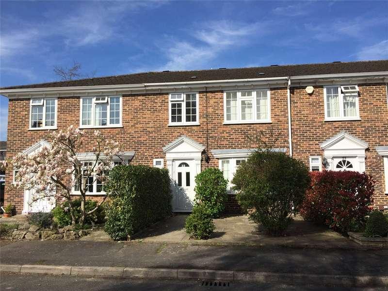4 Bedrooms Terraced House for sale in Hanover Walk, Weybridge, Surrey, KT13