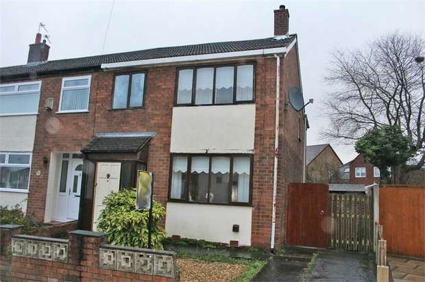 4 Bedrooms End Of Terrace House for sale in Birchfield Street, Thatto Heath, St Helens, Merseyside