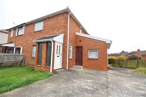 2 Bedrooms Semi Detached House for sale in Old Barn Way, ABERGAVENNY, Monmouthshire