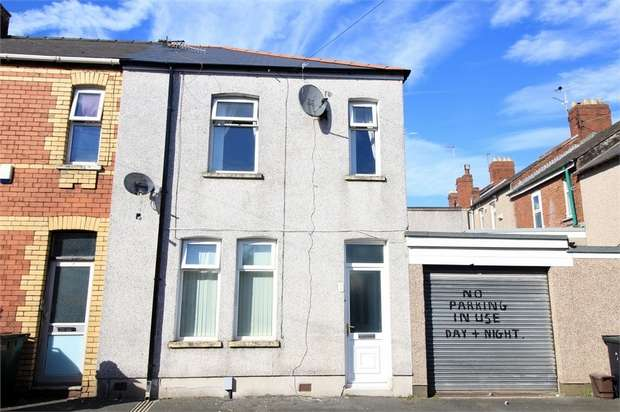 3 Bedrooms End Of Terrace House for sale in 2 Llewellyn Street, NEWPORT