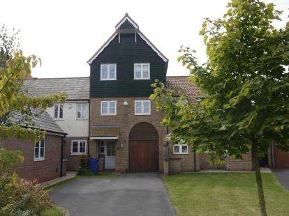 4 Bedrooms Terraced House for sale in Park Lane, Burton Waters, Lincoln