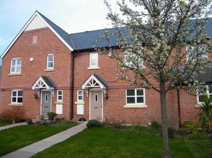 3 Bedrooms Terraced House for sale in St. Clements Court, Chorlton, Crewe, Cheshire
