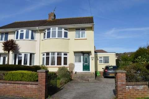 3 Bedrooms Semi Detached House for sale in Drysdale Close, Milton, Weston-super-Mare