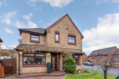 4 Bedrooms Detached House for sale in James Hamilton Drive, Bellshill, North Lanarkshire