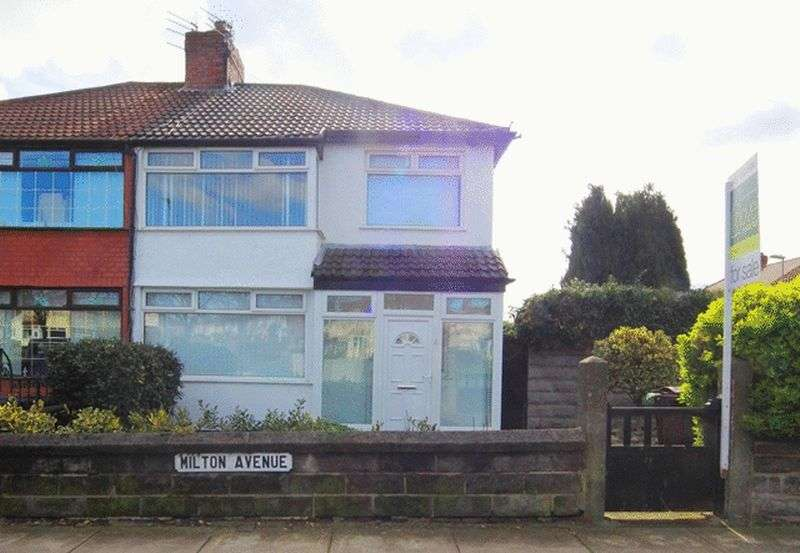 3 Bedrooms Semi Detached House for sale in Milton Avenue, Broadgreen, Liverpool, L14
