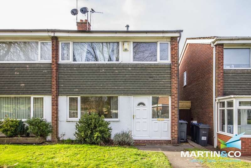 3 Bedrooms Semi Detached House for sale in Derry Close, Harborne, B17