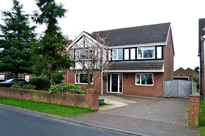 4 Bedrooms Detached House for sale in Front Street, Ulceby