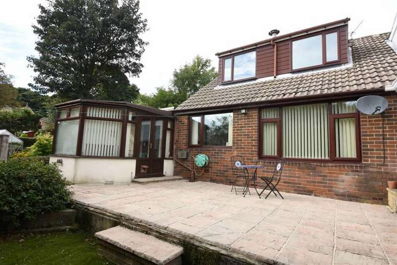 3 Bedrooms Semi Detached Bungalow for sale in Hill View Gardens, Northowram