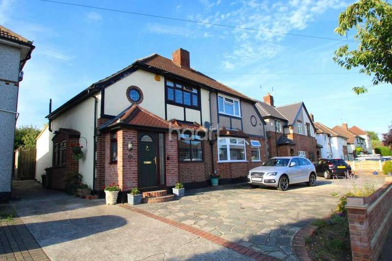 3 Bedrooms Semi Detached House for sale in Church Road, Harold Wood
