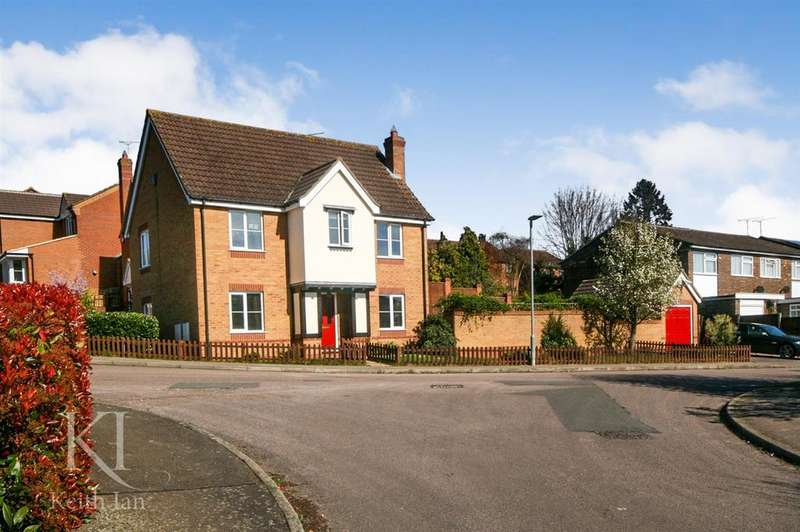 4 Bedrooms Detached House for sale in Perowne Way, Puckeridge