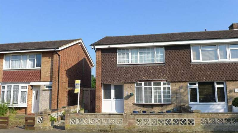 3 Bedrooms End Of Terrace House for sale in Bingen Road, Hitchin, Hertfordshire