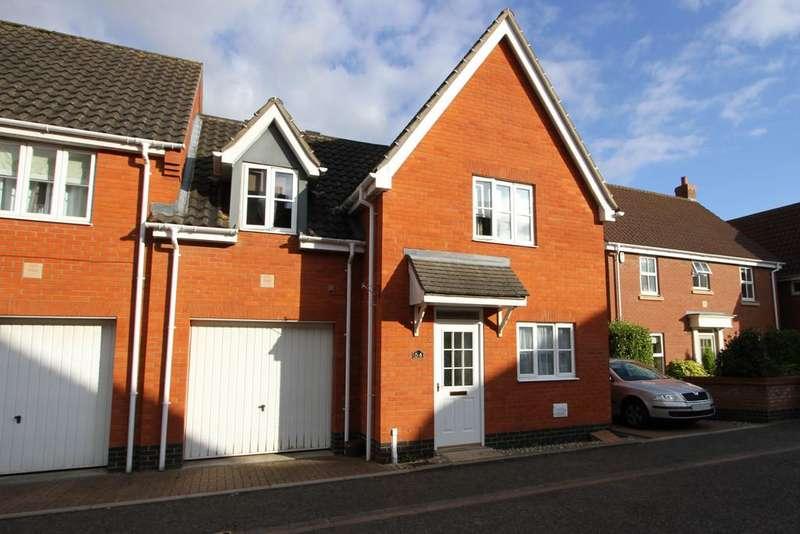 3 Bedrooms Link Detached House for sale in Burroughs Way, Wymondham