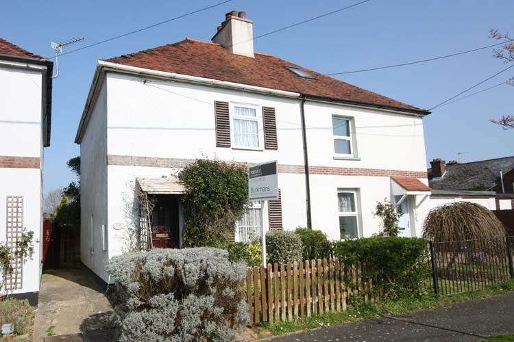 2 Bedrooms Semi Detached House for sale in May Avenue, Lymington SO41