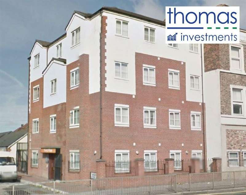 1 Bedroom Apartment Flat for sale in Wright Street, Liverpool